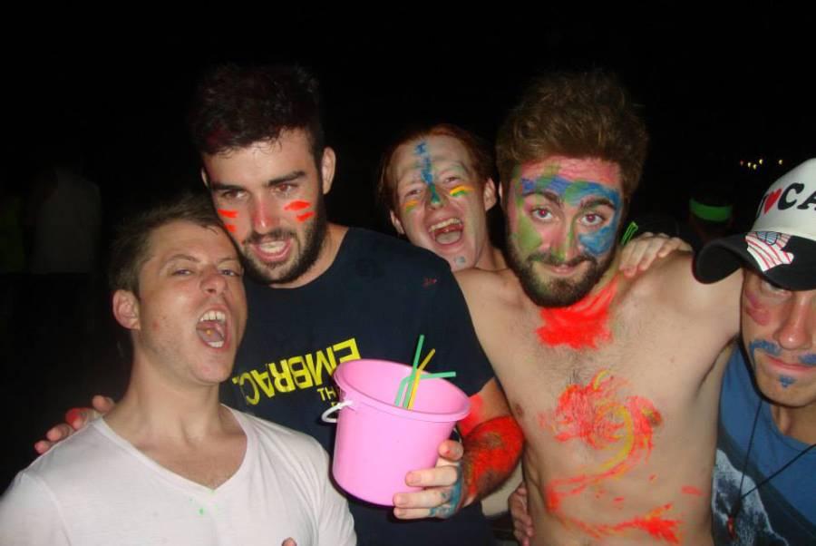 Koh Phangan Neon Paint