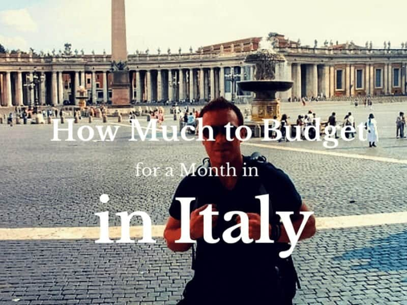 Backpacking Italy on a Budget