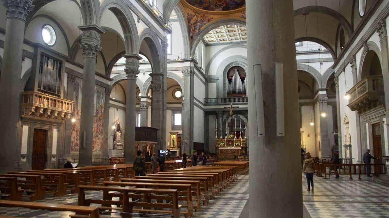 MEDICI mausoleum Florence San Lorenzo