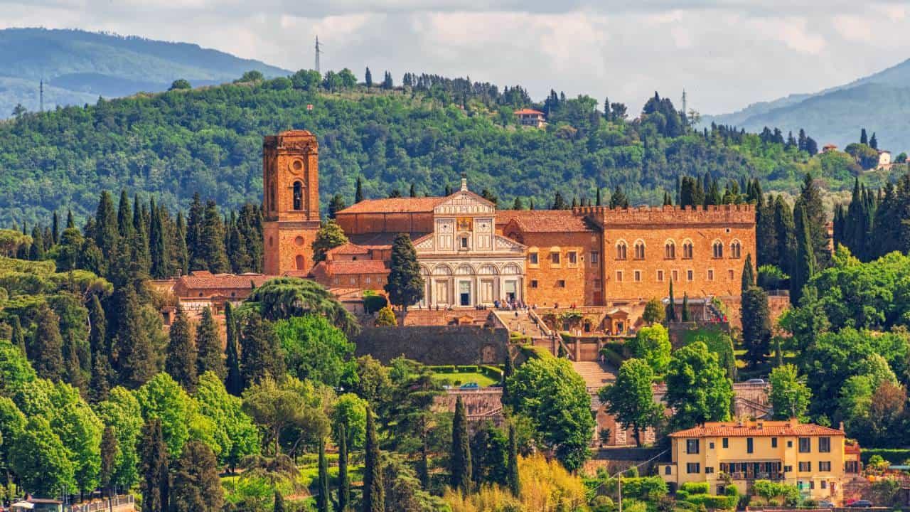 Florence SAN MINIATO AL MONTE Viewpoint