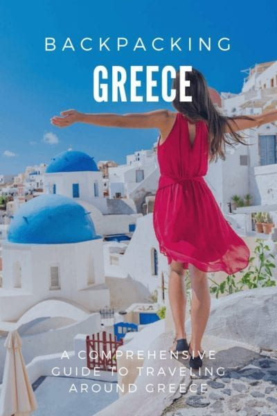 Backpacking Greece