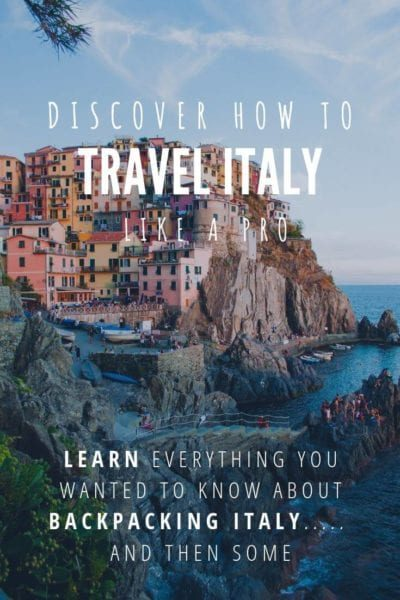 Backpacking Italy