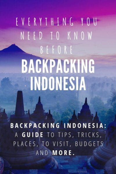 Backpacking indonesia
