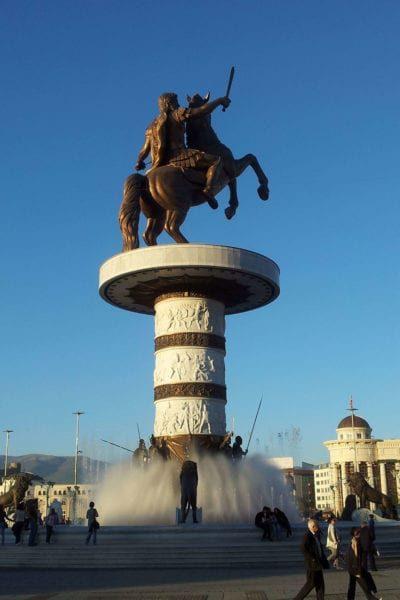 Statue-of-the-Warrior-Alexander-Skopje