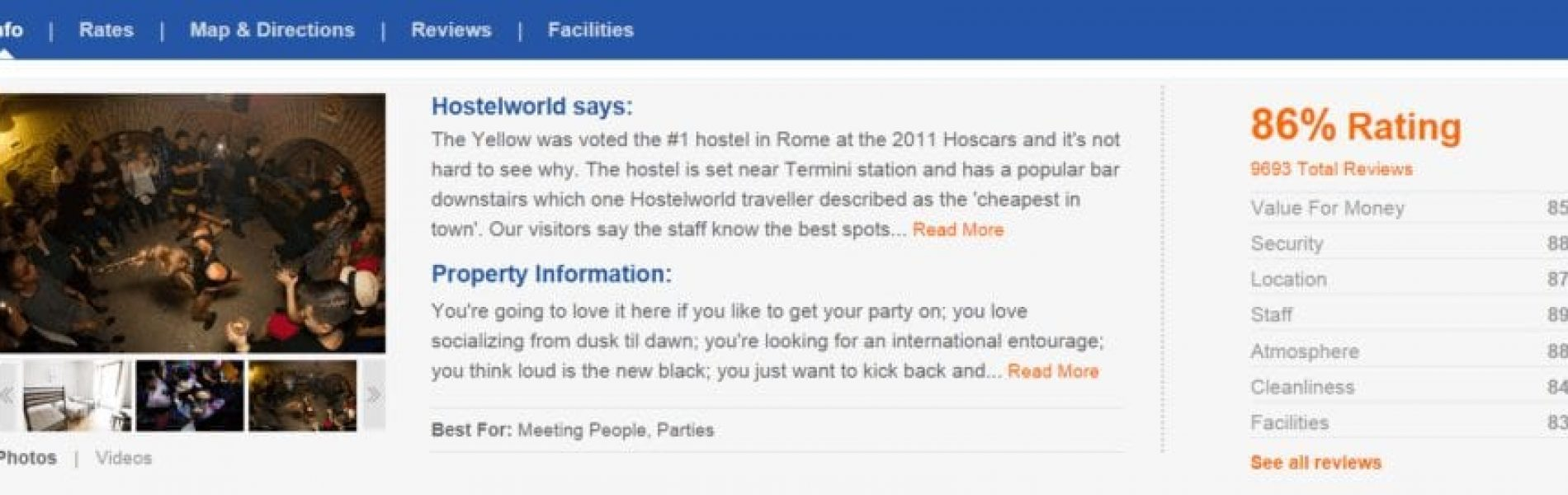 tips for finding a good hostel
